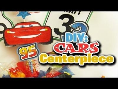 DIY: Cars Centerpiece