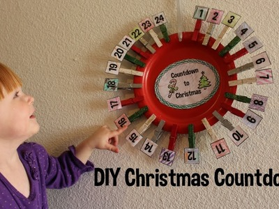 DIY Christmas Countdowns! Advent! How to!