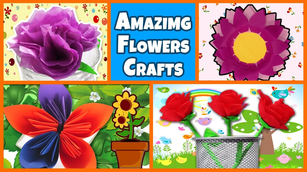 DIY Crafts   How To Make Beautiful Paper Flowers   Origami Flower Tutorial