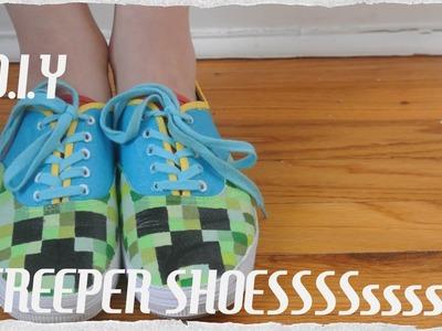 DIY Creeper Shoes!