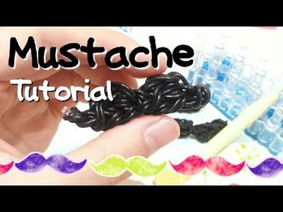 DIY Mustache Charm using Rainbow Loom-ORIGINALDESIGN {RainbowLoom||CraftyMints}