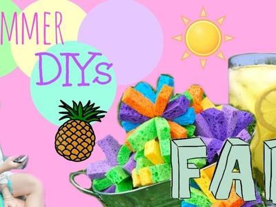 Easy and Cheap Summer DIYS!