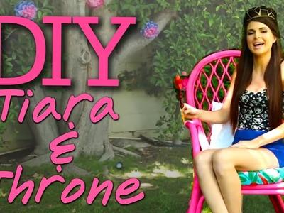 Feel Royal: DIY Throne and Tiara! #17NailedIt