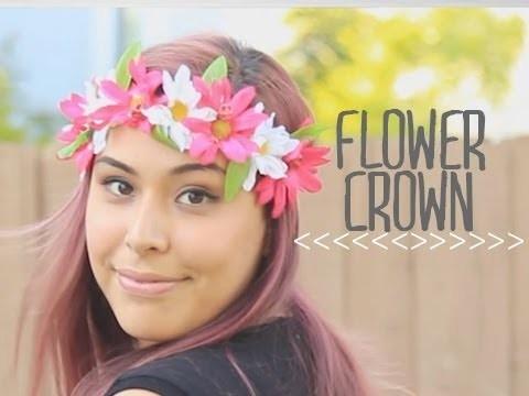 Flower Crown ♥ DIY