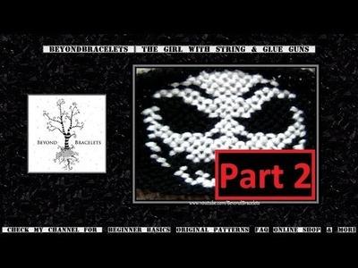 ► Friendship Bracelet Tutorial - Advanced - Jack Skellington (Part 2)