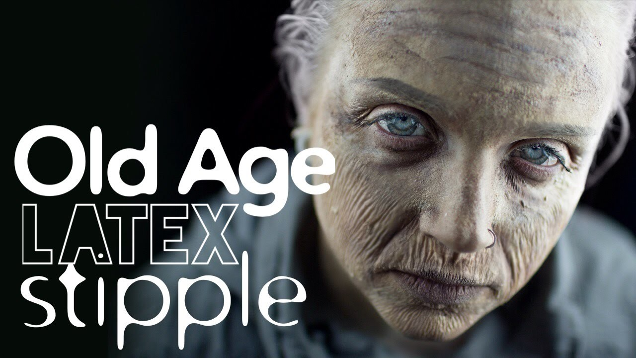 Gore Basics: Old Age Latex Stipple Makeup Tutorial