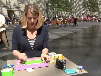 Handi-hour Crafting: Duct Tape Wallets