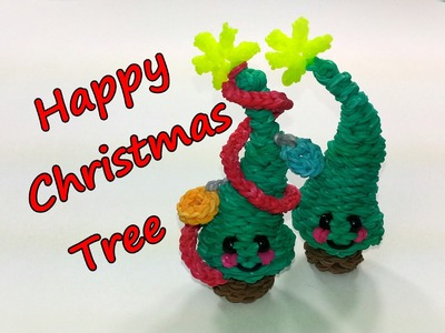 Happy Christmas Tree Tutorial by feelinspiffy (Rainbow Loom)