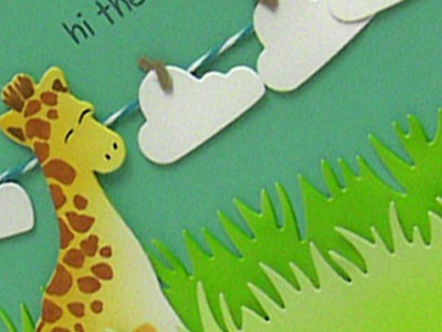 How to color cute dies without stamping
