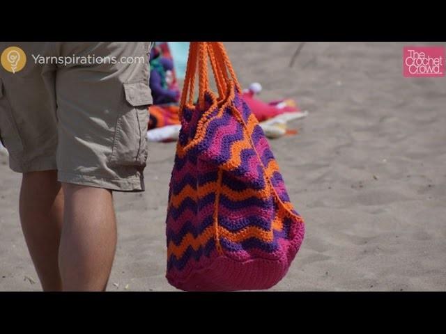 How to Crochet A Beach Bag