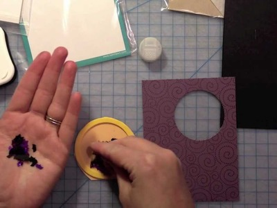 How to: make a Halloween shaker card
