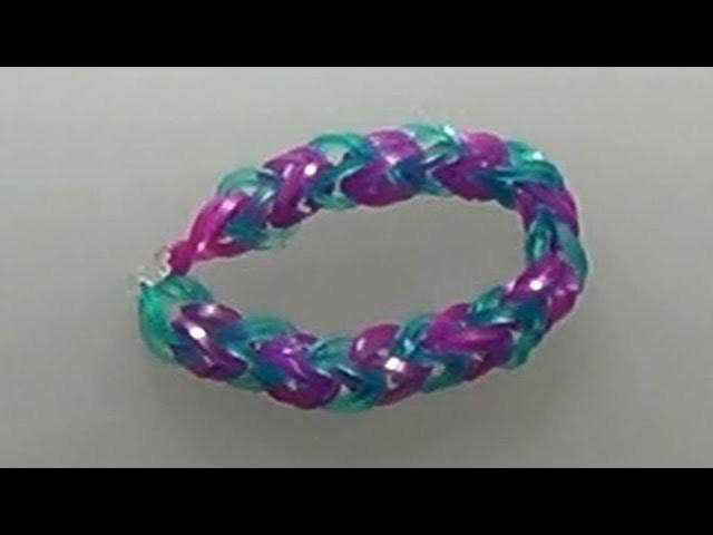 How to make a loom bracelet