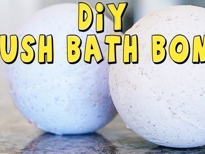HOW TO MAKE A LUSH BATH BOMB DIY TUTORIAL