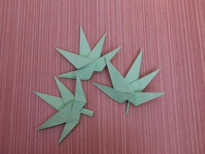 How To Make a Paper Marijuana - Origami Cannabis  Flower
