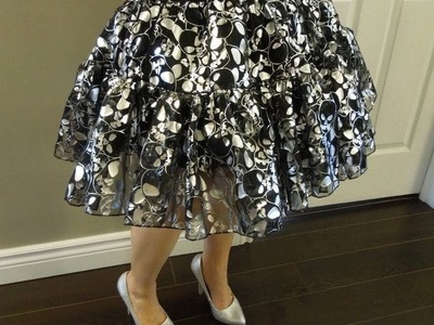 How to Make a Tutu.Petticoat Skirt Tutorial Lolita Anime K-pop f(x) Betsey Johnson Inspired