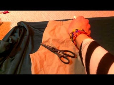 How To Make Camo Pants.Sweatpants (Kim Possible Inspired)