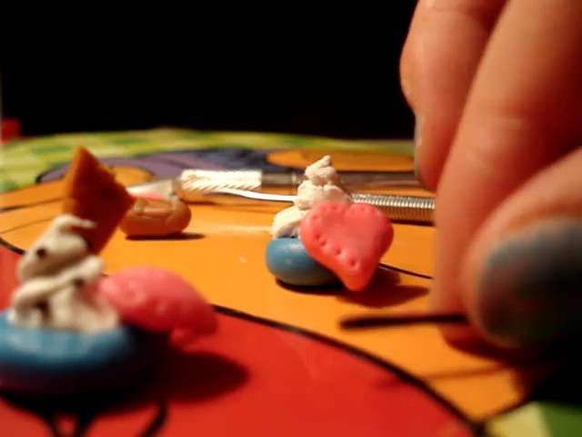 How to make  cupcake of polymer clay
