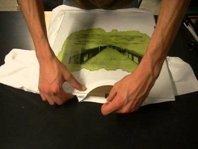 How to make cyanotype print on t-shirt