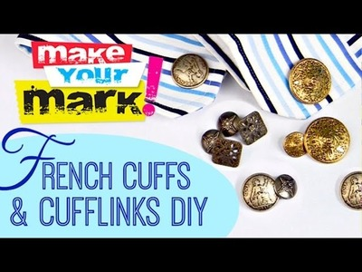 How to Make French Cuffs and Cufflinks