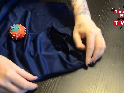 How to sew a simple holiday dress