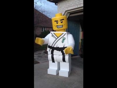 Lego Homemade Halloween Costume