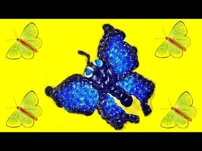 Loom Bandz Anleitung Deutsch Schmetterling (Tiere, Rainbow Loom Deutsch Loom Bands)