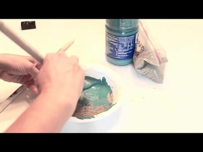 Make Your Own Colored Chalkboard Paint