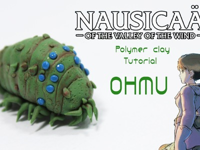 Nausicaä of the Valley of the Wind Ohmu Polymer Clay Tutorial