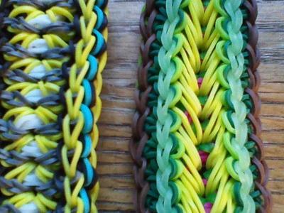 NEW Rainbow Loom Transformers Bracelet