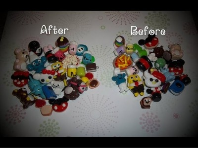 Polymer Clay Charms I remade! :)