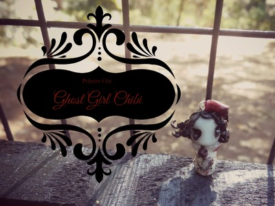 Polymer Clay Ghost Girl Chibi Tutorial (HALLOWEEN!)