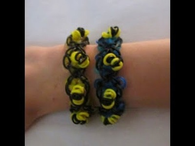 Rainbow Loom- How to Make a Mini Honey Bracelet (Original Design)