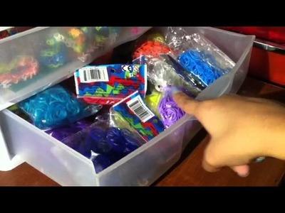 Rainbow Loom Storage!