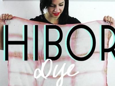 Shibori Dye. DIY