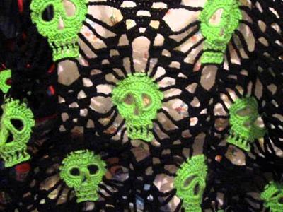 Skull Shawl