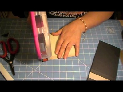 Tutorial on chipboard cover