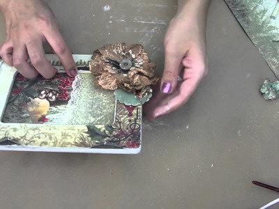 Video Class with Tiffany Morgan. Altered picture frame tutorial