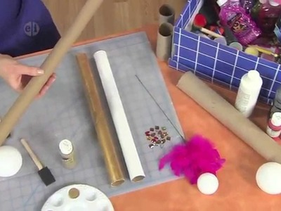 1709-5 Katie Hacker makes a magic wand & sword for pretend play on Hands On Crafts for Kids