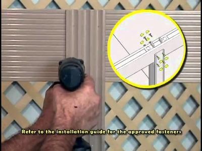 2 Column Pergola Kit DIY Installation Instructions