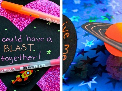 4 Easy, Out Of This World Valentines Tutorial
