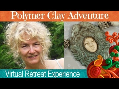 Barbara McGuire is teaching at the Polymer Clay Adventure Retreat 2015