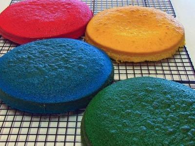 Betty's Rainbow Birthday Cake