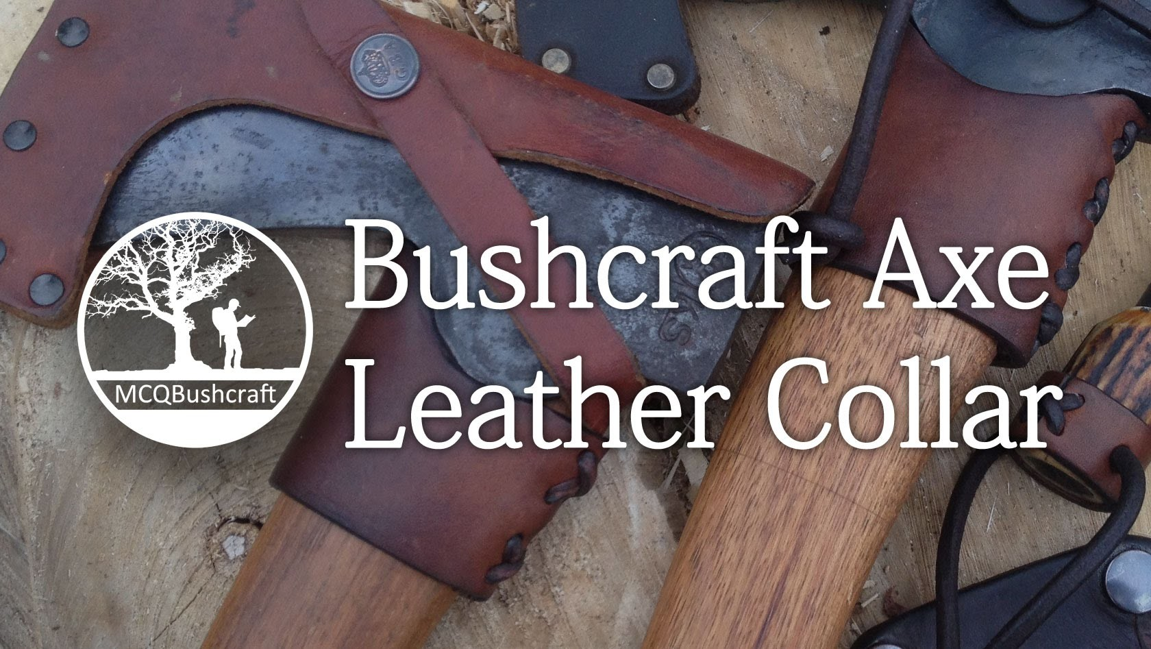Bushcraft Axe Work: Leather Collar