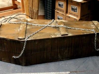 Coffin Bouncer DIY Kit - DIY Halloween Prop Kit - Halloween FX Props