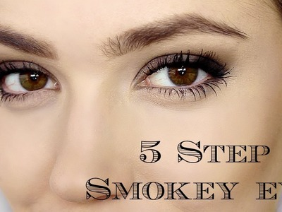 Day Smokey Eye | 5 Steps | Makeup Tutorial