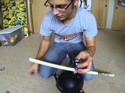 DIY: 360 GoPro Helmet Mount for $5
