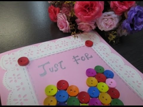 DIY : #65 Just For You Card ♥