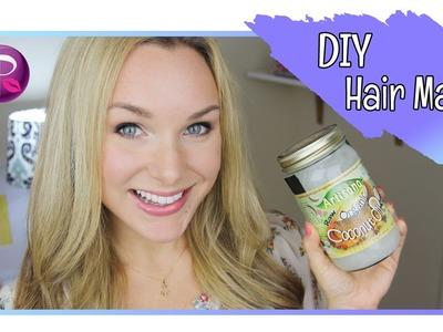 DIY Coconut Hair Mask - GlamourWonderland