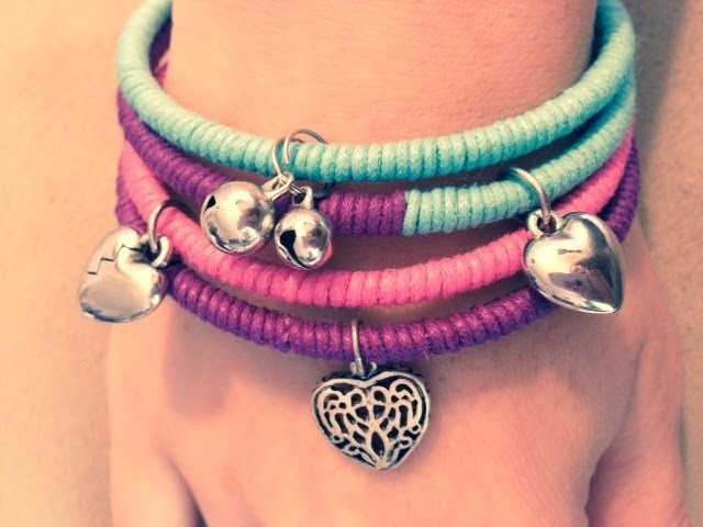 DIY Create a new look for your old bangle bracelets