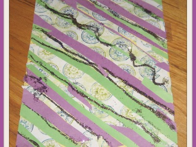 DIY Decorated Binder Dividers.How To Make: Cheap College Glitter  Dividers Out of Binder Dividers